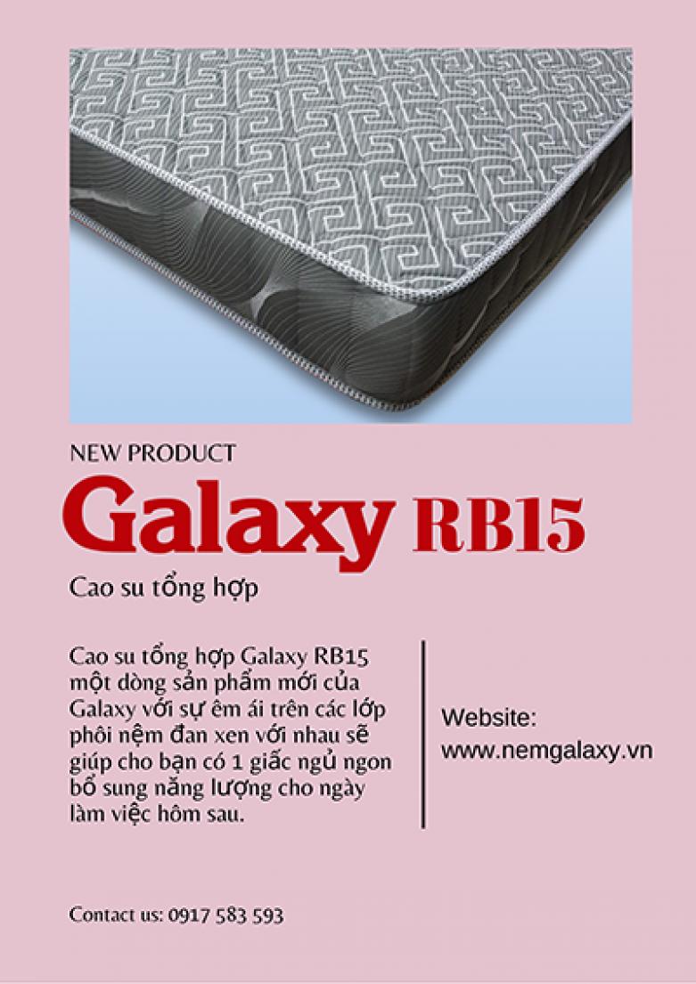 NGỦ NGON VỚI GALAXY RB15